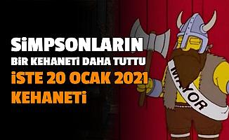 The Simpsons Dizisinde Bir Kehanet Daha Tuttu: Sıradaki Kehanet 20 Ocak 2021 İşte O Olay