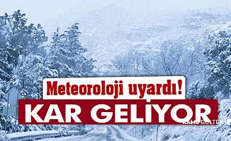 Türkiye Geneli Hava Durumu: Kar Geliyor