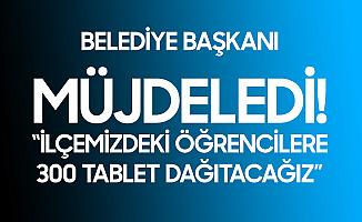 Ünye Belediyesi'nden İhtiyaç Sahibi Öğrencilere 300 Tablet