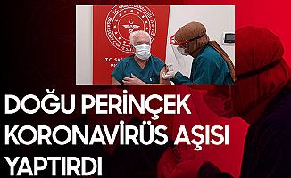 Vatan Partisi Genel Başkanı Doğu Perinçek Koronavirüs Aşısı Oldu