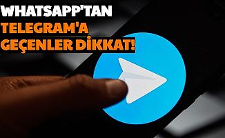 WhatsApp'tan Telegram'a Geçenler: Son Dakika Uyarısı Geldi