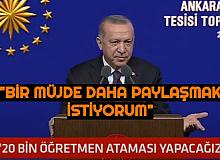 2021 Öğretmen Atamaları Açıklaması Erdoğan'dan Geldi: 20 Bin Öğretmen Alımı Yapılacak