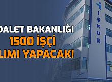 Adalet Bakanlığı 1500 İşçi Alımı Yapacak