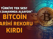 Bitcoin'den Rekor: 1 Bitcoin Fiyatı Tarihinin En Yüksek Seviyesinde İşte Yükselme Nedeni