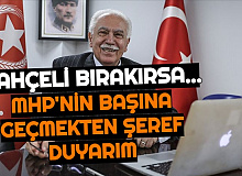 """Doğu Perinçek'ten Bahçeli Bırakırsa Açıklaması: """"MHP'nin Başına Geçmekten Şeref Duyarım"""""""