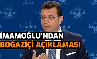 Ekrem İmamoğlu'ndan Boğaziçi Üniversitesi'ndeki Olaylar İle İlgili Açıklama