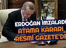Erdoğan İmzaladı: Atama Kararları Resmi Gazete'de Yayımlandı