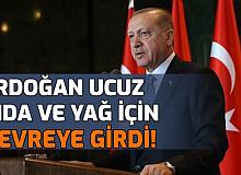 Erdoğan Ucuz Yağ ve Gıda İçin Devreye Girdi: İlk Adım Geldi