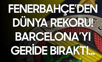 Fenerbahçe'den Dünya Rekoru! Sosyal Medyada En Üst Sırayı Ele Geçirdi