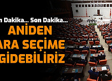 Flaş: Türkiye Aniden Ara Seçime Gidebilir İşte O İhtimal