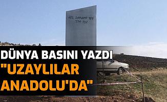 """Göbeklitepe'deki Monolit Dünya Basınında """"Uzaylılar Türkiye'de"""""""