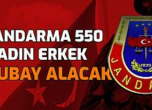 Jandarma KPSS'siz ve KPSS ile 550 Kadın Erkek Subay Alımı Yapacak