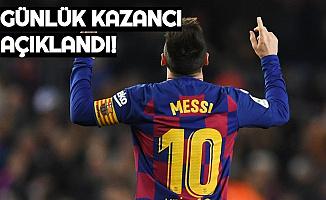 Lionel Messi'nin Günlük Kazandığı Para Dudak Uçuklattı