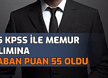 55 KPSS ile Memur Alımında KPSS Taban Puanı Tam 55'e Kadar Düştü: Bahşılı Belediyesi Sonuçları Açıklandı