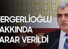 Ömer Faruk Gergerlioğlu'nun 2 Yıl 6 Ay Hapis Cezası Onandı
