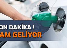 Son Dakika: Benzin Fiyatına Zam Geliyor