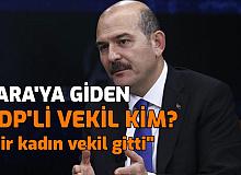 Süleyman Soylu, HDP'li Kadın Vekilin Gara'ya Gittiğini Açıkladı