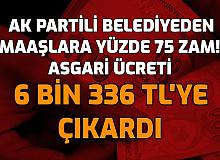 Taşeron ve Belediye İşçilerine Rekor Zam: AK Partili Belediye Asgari Ücreti 6336 TL Yaptı