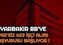 423 İşçi Alınacak: Diyarbakır Büyükşehir Belediyesi Personel Alımı Başvurusu Başlıyor