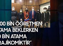 Adana Milletvekili İsmail Koncuk: 500 Binden Fazla İşsiz Öğretmen Varken, 20 Bin Atama Kabul Edilemez