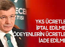 Ahmet Davutoğlu: YKS Ücretleri İptal Edilmeli, Ödeyenlerin Ücreti İade Edilmeli