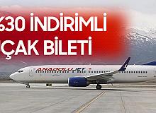Anadolujet %30 İndirimli Uçak Bileti Satacak