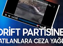 Ankara'da Drift Partisine Katılan 26 Araç Trafikten Men Edildi