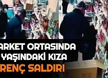 Ankara'da Skandal Olay: Market Ortasında 10 Yaşındaki Kıza Taciz