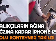 Balıkçıların Ağına 1 Konteyner Dolusu İPhone 12 Takıldı