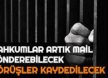 Cezaevlerinde Düzenleme: Mahkumlar Mail Gönderebilecek , Görüşler Artık Kaydedilecek