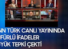 CNN Türk Canlı Yayınında Tepki Çeken İfadeler: ABD Bizi S..meye Devam Ettikçe...