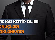 CTE 160 Katip Alımı Sonuçları Açıklanıyor (Balıkesir-Diyarbakır-Hatay-İskenderun-İstanbul-Bakırköy-İzmir-Kayseri-Kocaeli-Tarsus-Tekirdağ-Van Adliyesi Sonuç Sayfası