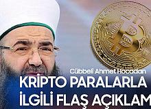 Cübbeli Ahmet'ten Kripto Para ile İlgili Flaş Açıklama! Kripto Paralar Caiz mi?