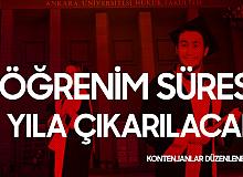 Cumhurbaşkanı Erdoğan Açıkladı! Hukuk Fakültelerinde Öğrenim Süresi 5 Yıla Çıkarılacak