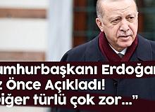 Cumhurbaşkanı Erdoğan Az Önce Açıkladı: Adil Erişim Olmazsa , Salgın Sona Ermez...
