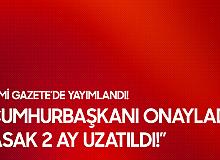 Cumhurbaşkanı Erdoğan İmzaladı! İşten Çıkarma Yasağı 2 Ay Daha Uzatıldı