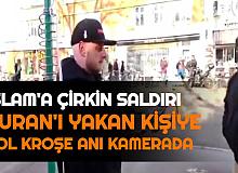 Danimarka'da İslam'a Çirkin Saldırı: Sokak Ortasında Kur'an-ı Kerim'i Yaktı