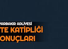 Diyarbakır Adliyesi CTE 160 Katip Alımı Sonuçları Açıklandı