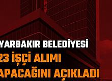 Diyarbakır Büyükşehir Belediyesi 423 İşçi Alımı Yapacak: İşte Personel Alımı Tarihi