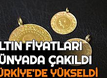 Dünyada Çakılan Altın Fiyatlarında, Türkiye'de Hızlı Yükseliş (Neden Yükseliyor , Yükselecek mi Düşecek mi?)