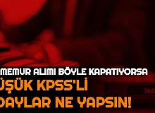 Düşük KPSS'lilere Kötü Haber: Yüksek KPSS'li Adaylar Anca Sıralamaya Girebiliyor