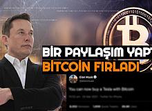 Elon Musk Bir Paylaşım Yaptı: Bitcoin Fırladı