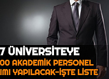 Erdoğan İmzaladı YÖK Listeyi Açıkladı: 127 Üniversiteye 2000 Akademik Personel Alımı Yapılacak