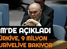 """Feridun Sinirlioğlu: """"4 Milyon Suriyeliye Türkiye'de, 5 Milyon Suriyeliye Sınırda Bakıyoruz"""""""
