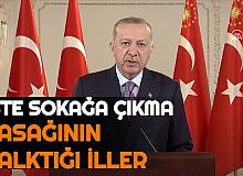 Hafta Sonu Sokağa Çıkma Yasağının Kalktığı İller Belli Oldu (Adana, İstanbul, Ankara, İzmir 65 Yaş Üstü ve 20 Yaş Altı)