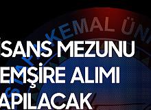 Hatay Mustafa Kemal Üniversitesi'ne Lisans Mezunu Hemşire Alımı Gerçekleştirilecek