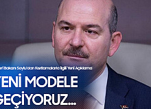 İçişleri Bakanı Süleyman Soylu'dan Kontrollü Normalleşme Süreci Mesajı: Yeni ve Daha Yoğun Denetim Modeline Geçiyoruz