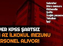 İSPER KPSS'siz 128 Personel Alımı Başvurusu Başladı (Sekreter, Büro Memuru, Mühendis, Sağlık Personeli, Tekniker, İşçi)