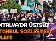 İstanbul Sözleşmesinin İptaline, Üstsüz Protesto ile Tepki