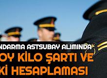 Jandarma Astsubay Alımında Boy Kilo Şartı ve Vücut Kitle İndeksi VKİ Hesaplama Formülü